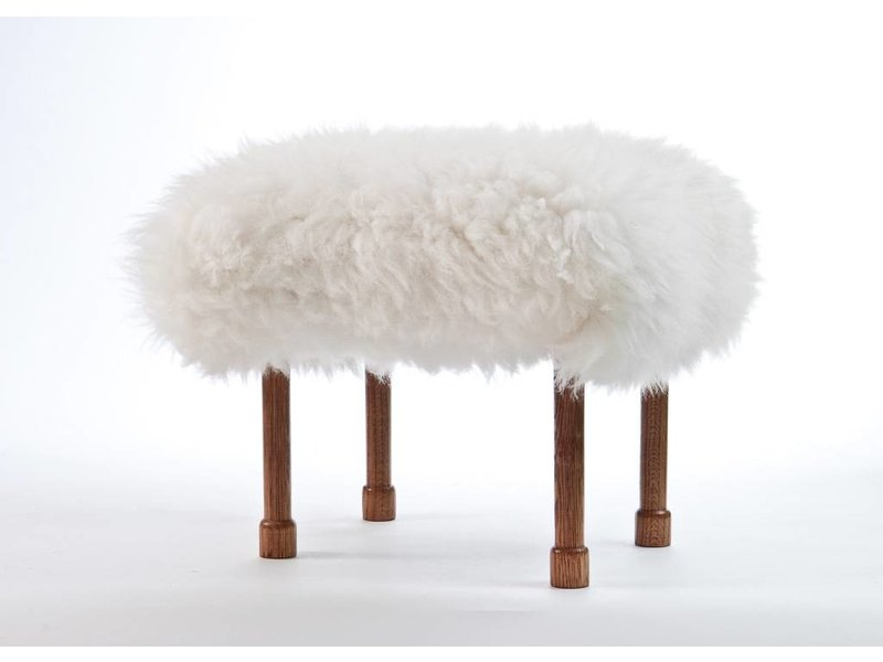 Baa Stool Myfanwy - Natural Ivory