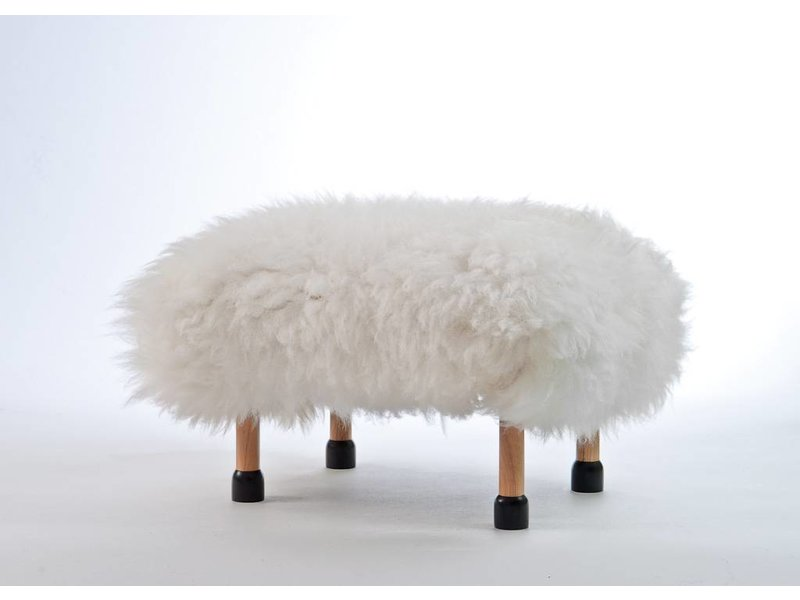 Baa Stool Nia - Natural Ivory