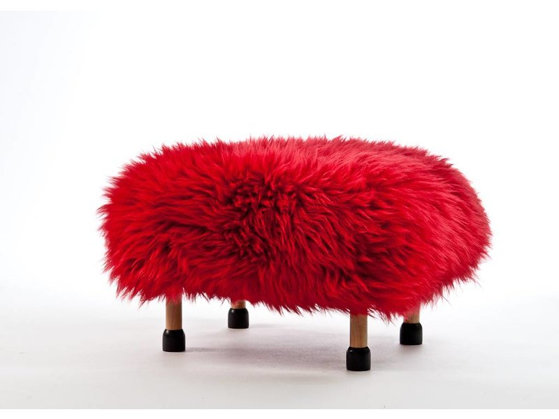 Baa Stool Nia - Dragon Red