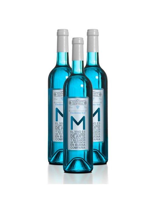 Vino Azul Chardonnay - 3 flessen