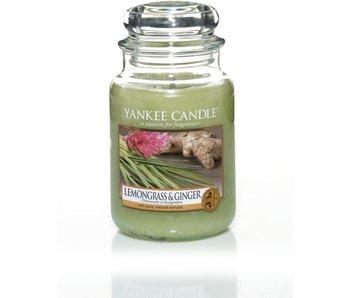 Lemongrass & Ginger - Large Jar