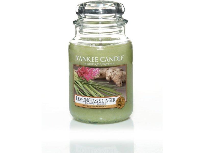 Yankee Candle Lemongrass & Ginger - Large Jar