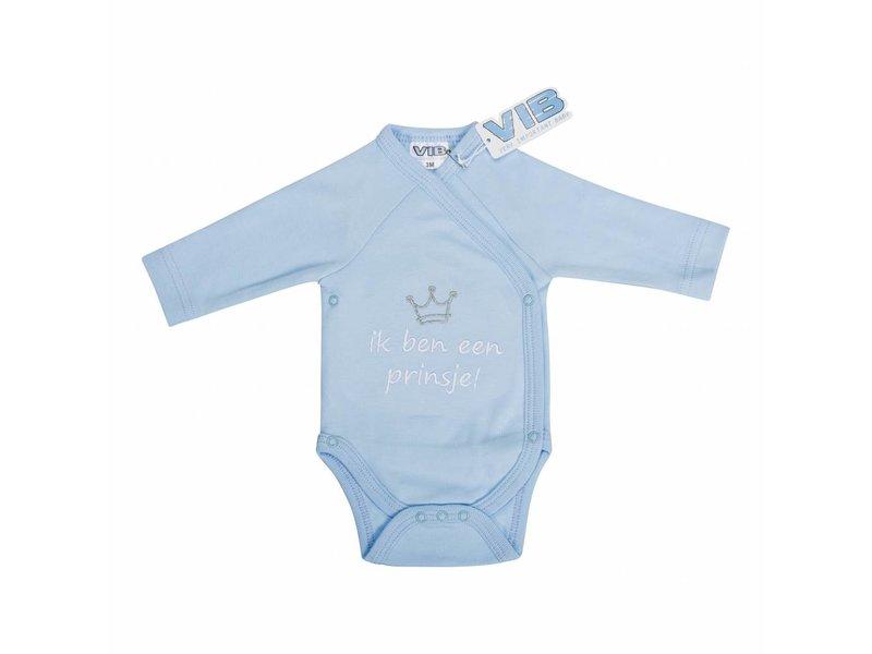 Very Important Baby Romper Ik Ben Een Prinsje! – Licht Blauw