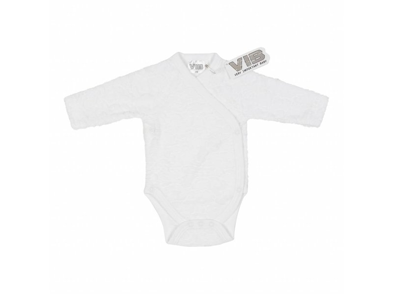 Very Important Baby Romper Soft Geweven – Wit