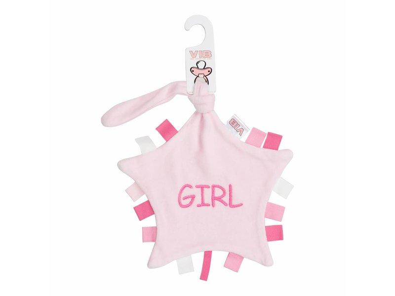 Very Important Baby Tutteldoekje Girl – Roze