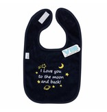 Very Important Baby Slabber I Love You To The Moon And Back – Navy