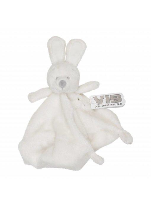 Knuffel Pluche Konijn Knuffeldoekje - Wit