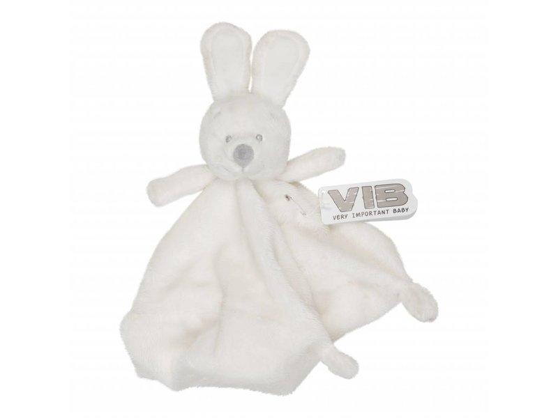 Very Important Baby Knuffel Pluche Konijn Knuffeldoekje - Wit