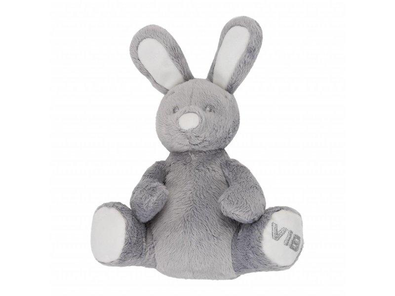 Very Important Baby Knuffel Pluche Konijn Rabbit - Grijs