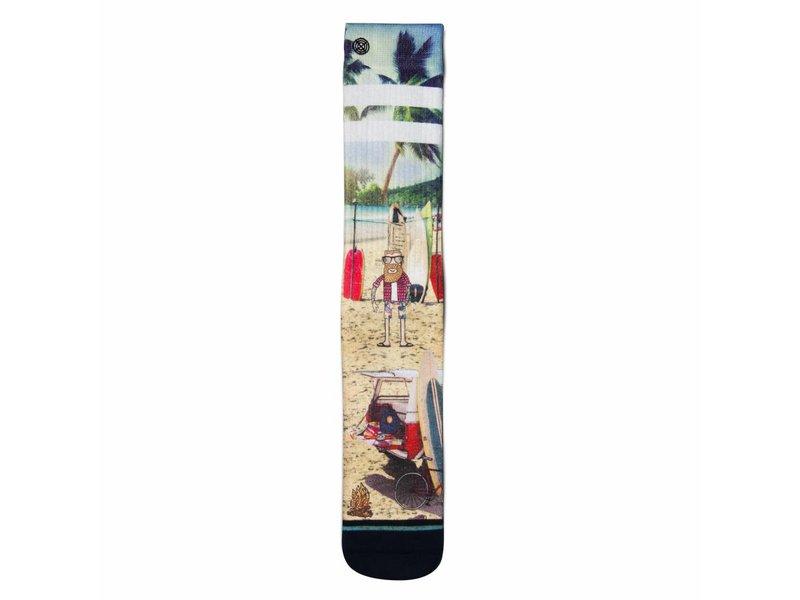XPOOOS Socks XPOOOS Surfer's Paradise Luke