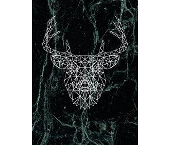 Woon-/Wenskaart Deer