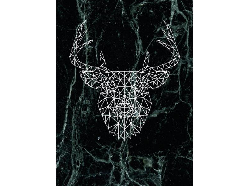 Prints & Posters Woon-/Wenskaart Deer