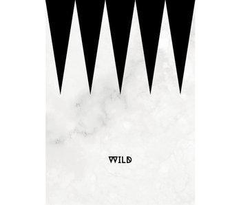 Woon-/Wenskaart Wild