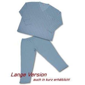 Pyjama Honeymoon blauw 3XL
