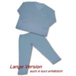 Pyjama Honeymoon blauw 4XL