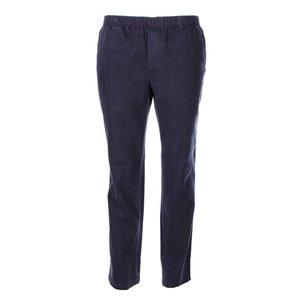 Luigi Morini Elastische jeans broek Amberg zwart Maat 33