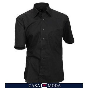 Casa Moda hemd zwart 8070/80 - 4XL/50