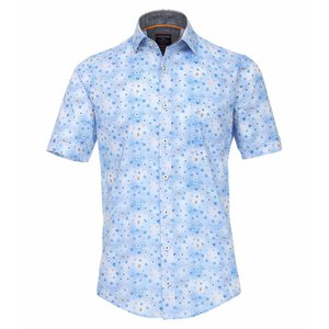 Casa Moda Hemd blauw 982905400/100 2XL