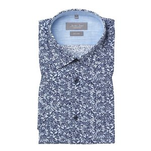 Seven Seas Overhemd 4173 Blauw 2XL
