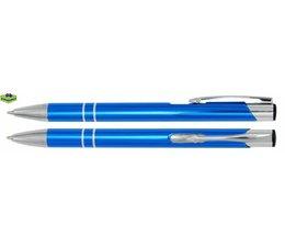 Pen aluminium Marseille licht blauw glans