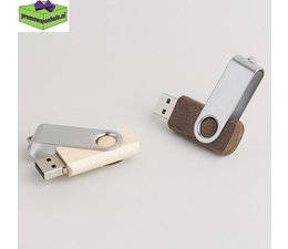 USB sticks Twister hout