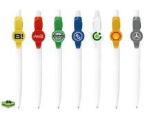 Pennen bedrukken Olimpia Bier- en ronde clip