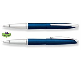 Cross luxe pennen graveren ATX Translucent Blue Laqcuer