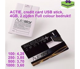 USB sticks Credit card