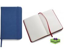 Notitieboekjes A5 bedrukken blauw