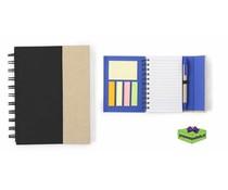 Notitieboekje met pen en magneetsluiting