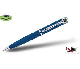 Quill luxe pennen met doming en gravure 510 blauw
