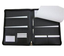 Schrijfmappen bedrukken nappa leer A4 PW8101