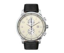Chronograaf horloge met logo
