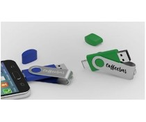 USB sticks Twister met Micro USB bedrukken