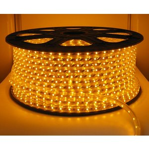 100 Meter High Voltage LED strip Geel
