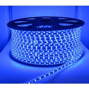 100 Meter High Voltage LED strip Blauw