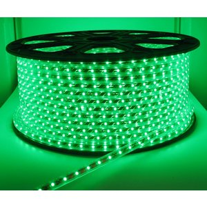 100 Meter High Voltage LED strip Groen