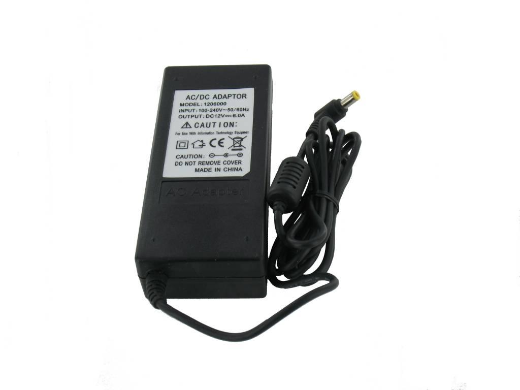 12 volt 6 ampere transformer groothandel xl. Black Bedroom Furniture Sets. Home Design Ideas