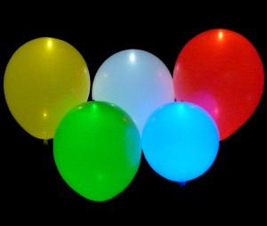 LED Luftballons