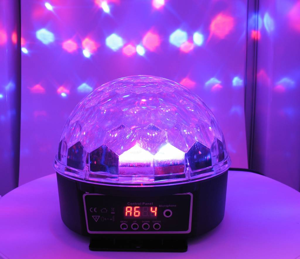 LED-Kristall Magic Ball