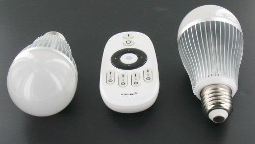 Lampen Op Afstandsbediening : Led lamp set 2x 6 watt met rf afstandsbediening groothandel xl