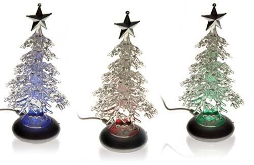 USB Weihnachtsbaum mit RGB 7 Farben - Groothandel-XL