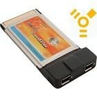 PCMCIA Firewire 2 Poort Kaart