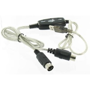 USB - MIDI Keyboard Interface Converter Cable
