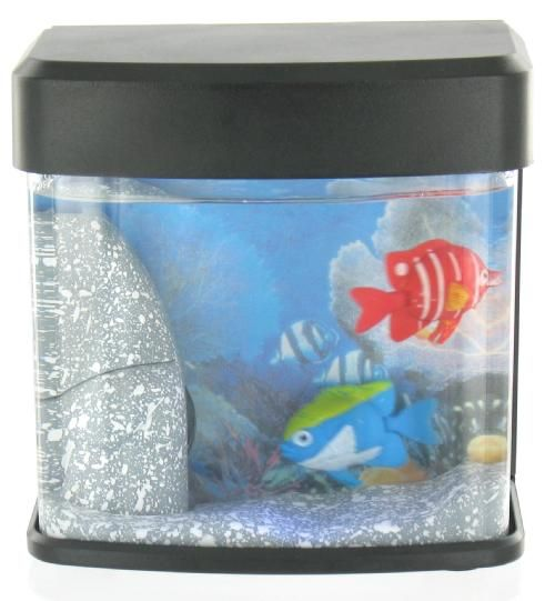 USB Mini Aquarium<br>with two fish