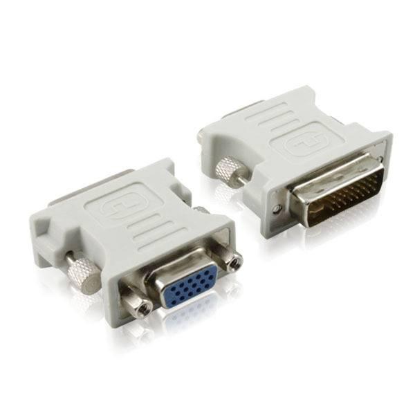 DVI 24 + 5 mâle vers VGA femelle Adaptateur