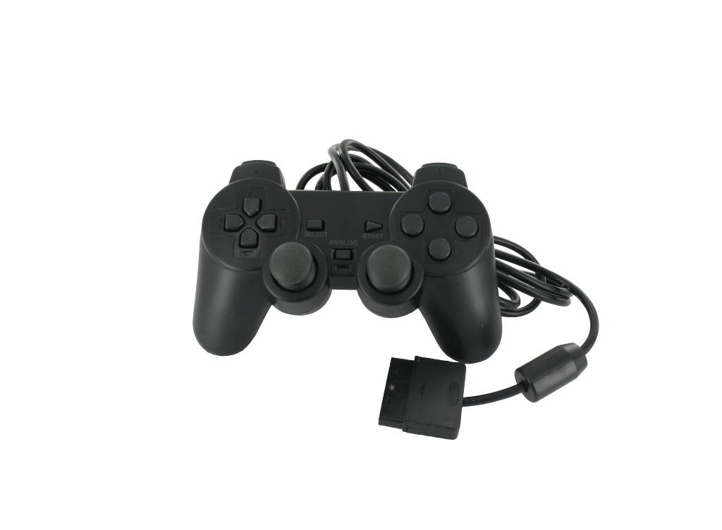 Controller wired<br>for Playstation 2