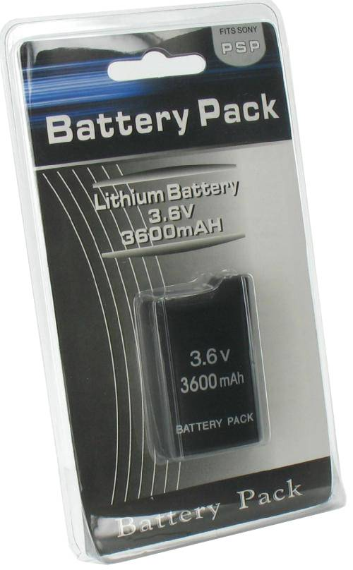 Battery Battery<br>3600 mAh for PSP