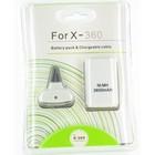 Play & Charge Set met Accu voor XBOX 360