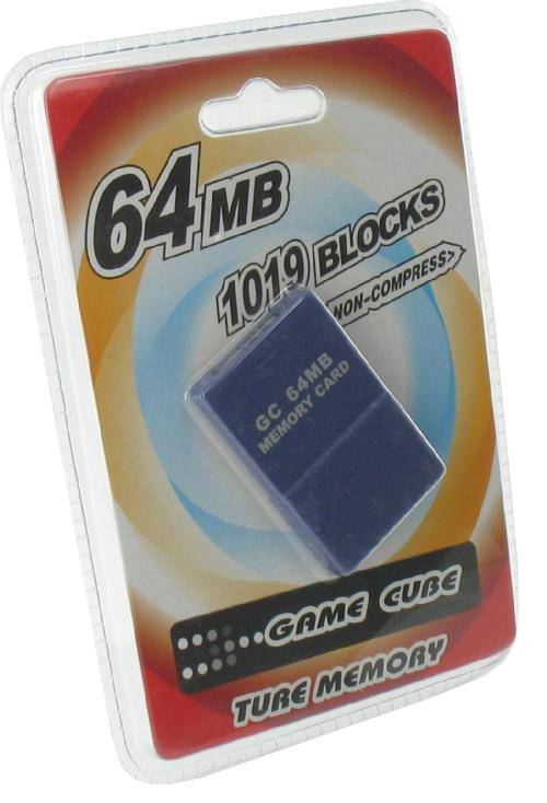 64 MB Memory Card<br>for GameCube and Wii
